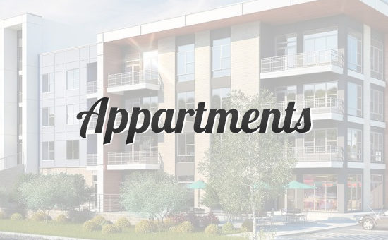 Сайт аренды квартир Appartments